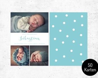 Card / birth no.. 2