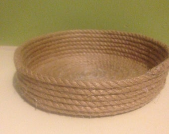 Hand  Crafted Rope Bowl