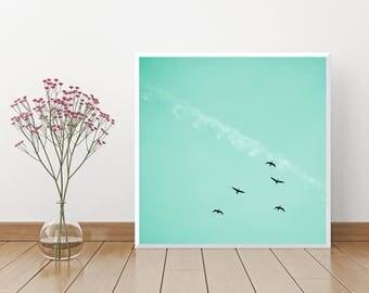 Spirit in the sky, 30 x 30 cm