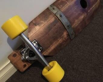 Wine Barrel Longboard