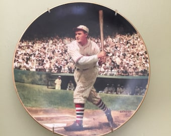 Rogers Hornsby Collectible Baseball Plate- The .424 Season- Legends of Baseball