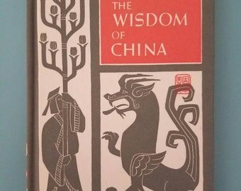 The Wisdom of China Vintage 1960s Peter Pauper Press