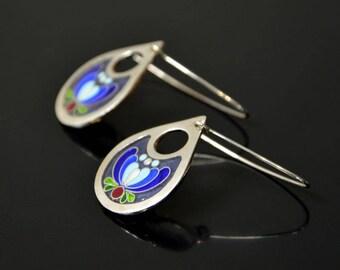 Kashubian theme earrings