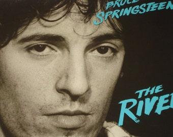 Bruce Springsteen vinyl record album, Springsteen The River vintage vinyl record