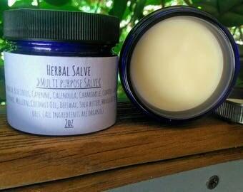 2 oz Herbal Salve