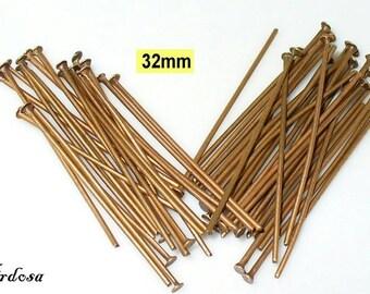 50 pins copper 32 mm (K29. 32)