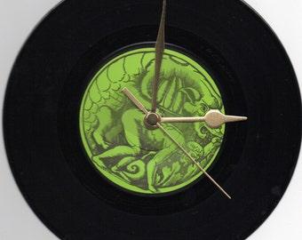 "Super Furry Animals - LlanfairPG.. 7"" Vinyl Record Wall Clock"