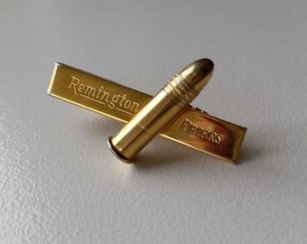 Remington Peters Bullet Tie Clip