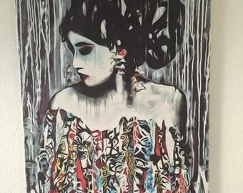 Senorita wall art canvas .... various sizes available