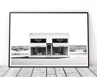 Wall Art Black And White fashion wall art | etsy
