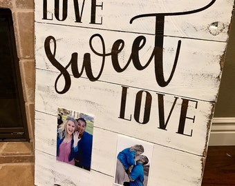 Love Sweet Love Sign