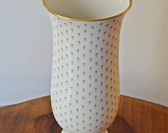 Kaiser Linderhof Vase, Kaiser W Germany Porcelain, Vintage Porcelain Vase