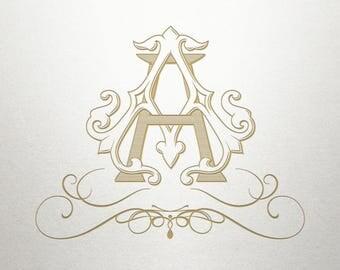 Elegant Swirl Design  - Smyrna Swirls -  Elegant Swirl - Digital