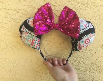 Star Wars Sugar Skull Minnie Ears!