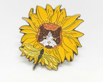 China Cat Sunflower series Pin 1