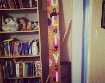 Personalized Name Growth Chart