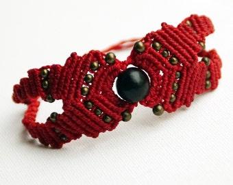 Red Macrium Bracelet