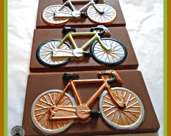 Bicycle Chocolate Gift/Bike Gift/Female Cyclist/Bike Rider/Male Birthday/Dad/Brother/Uncle/Friend/Husband/Wife/Edible bike/Mens gift/Women