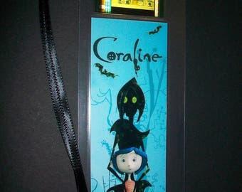 CORALINE Movie Memorabilia Film Cell Bookmark …