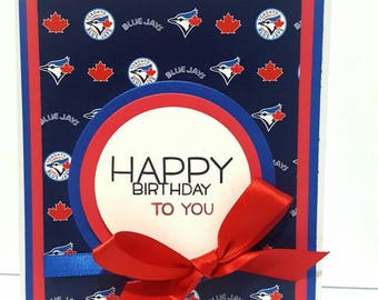 Toronto Blue Jays Birthday Card