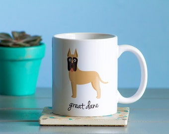 Great Dane Mug (cropped ears)