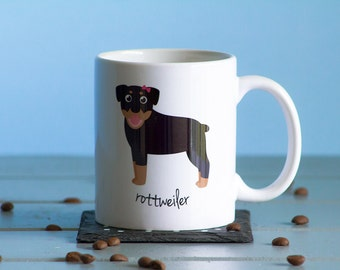 Rottweiler Mug (girl)