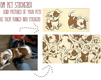 Custom Pet Stickers