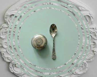 """Decorative tile 15 x 15 cm """"Silver"""""""