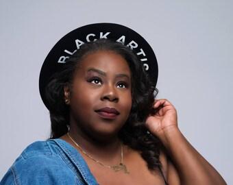 Black Artist Fedora