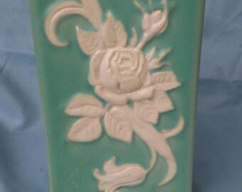 Vintage Weller pottery Cameo Deco Vase