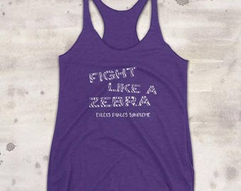 YOUR COLOR Fight Like a Zebra EDS Tank Top