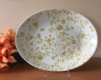 Sheffield Golden Meadow Ironstone Oval Platter