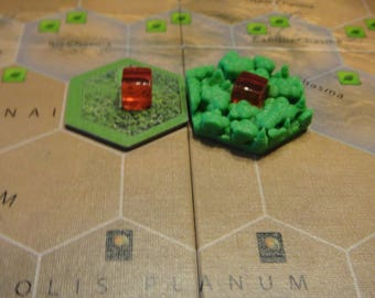 Terraforming Mars Game Gear : 3D Tiles Set of 80