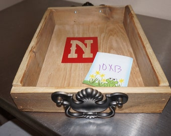 Reclaimed wood trays