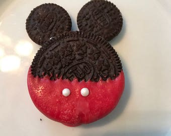 Chocolate Oreo Mickey Mouse