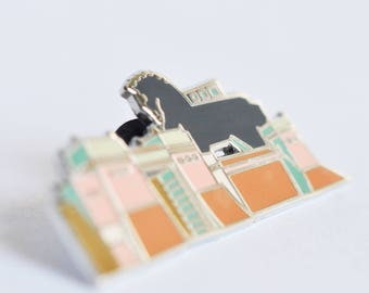 Trojan Horse Hard Enamel Pin
