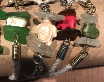 Boston Harbor sea glass bracelets:)