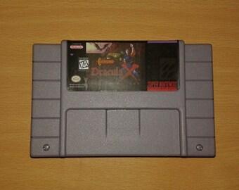 Castlevania Dracula X / Vampire's Kiss - SNES - Super Nintendo
