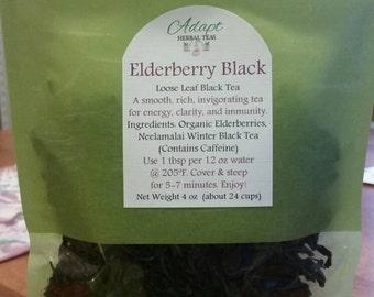 Elderberry Black Tea- Energy, Clarity, Immunity