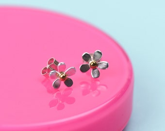 Bloom, Daisy Earrings, Daisy Studs, Sterling Silver, Bible Verse Jewellery, Handmade, Flower Earrings, Bloom Jewellery, Stud Earrings
