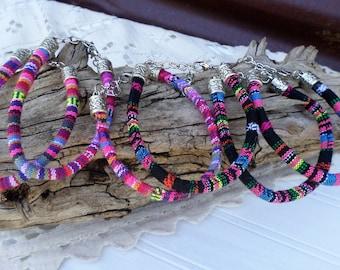 Serape Fiesta Cord Bracelets