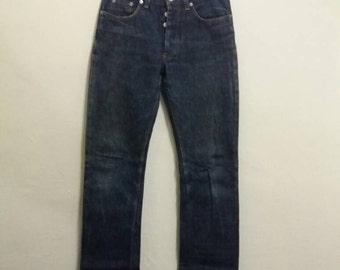Vintage Helmut lang jeans/waist 29/faded blue/japan style/hiphop
