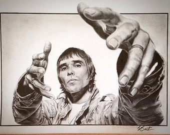 Ian Brown original drawing