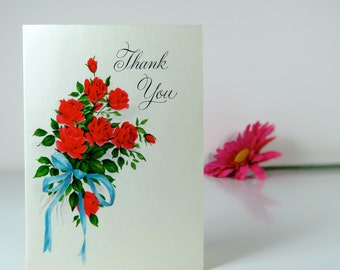 Vintage thank you card, Hallmark