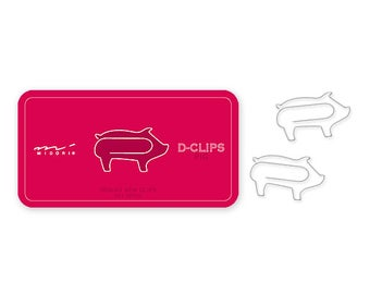Pig Clip, Binder Clip, Paper Clip, Planner Clip, Planner Accessories, School Supplies, Office Supplies