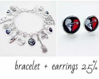 5 seconds of summer sharm bracelet - 5 seconds of summer Earrings