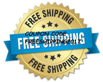 Free shipping 2017 Coupon Code  NOT FOR SALE