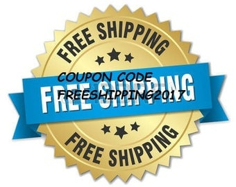 Free shipping 2017 Coupon Code  NOT FOR SALE free-shipping