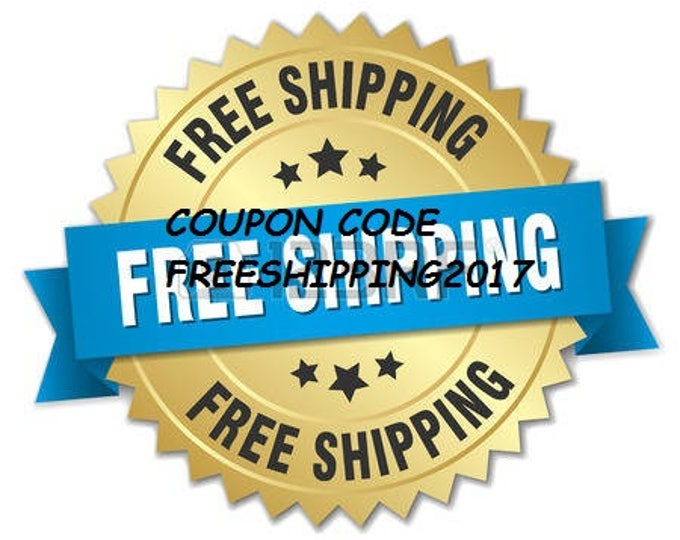 Free shipping 2018 Coupon Code Discount NOT FOR SALE free-shipping
