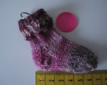 Mini sock, Keychain